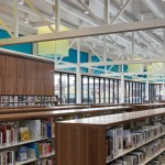 7 bibliotecas futuristas criadas para muito mais do que livros