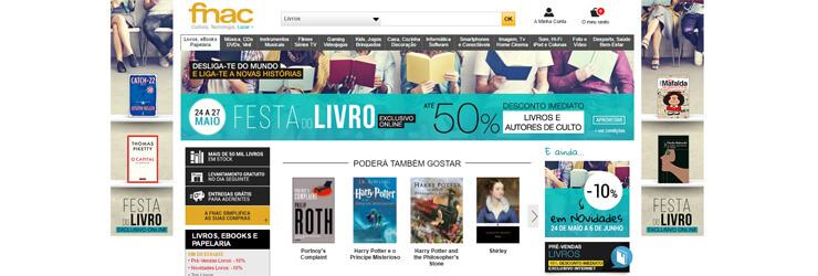 Secção de Livros sobre Literatura na Fnac. Clique na imagem para entrar.