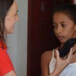 A rapariga de 12 anos que abriu uma biblioteca no Brasil