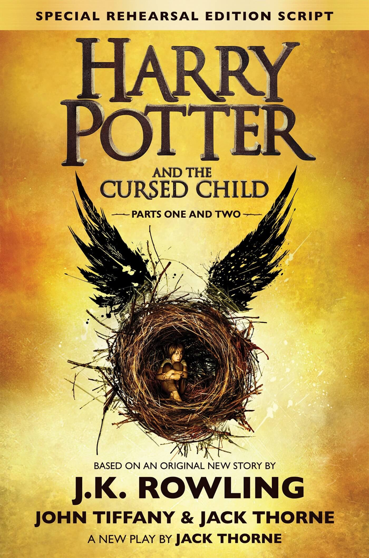 capa do livro cursed child