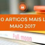 Top 10 de Artigos Mais Lidos no Mundo de Livros em Maio 2017