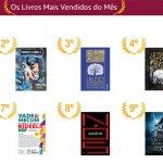 Confira o Top 10 de Livros mais vendidos em Abril 2017 na Amazon Brasil