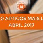 Top 10 de Artigos mais lidos no Mundo de Livros em Abril 2017