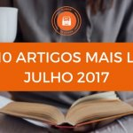 Top 10 de Artigos Mais Lidos no Mundo de Livros em Julho 2017