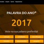 Qual será a Palavra do Ano 2017 para os portugueses?